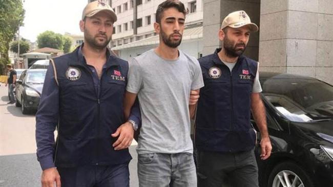 HDP binasında yakalanan terör şüphelisi tutuklandı