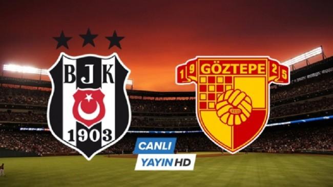 Beşiktaş Göztepe maçı canlı İZLE  BJK Göztepe maçını şifresiz veren kanallar | BJK Göztepe canlı skoru kaç kaç?