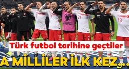 Fransa – Türkiye maçı tarihe geçti! A Milli Takım ilk kez…
