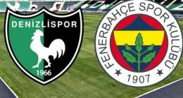 Taraftarium 24 tv Canlı şifresiz izle Denizlispor Fenerbahçe maçı idman tv canlı izle