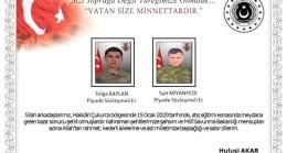 Son dakika: Hakkari'de eğitim kazası: 2 asker şehit, 2 asker yaralı
