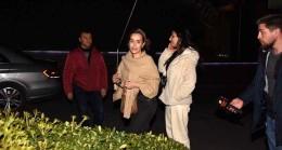 Alkolü fazla kaçıran Helin Avşar ve arkadaşı, basın mensuplarıyla tartıştı