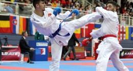 Rus rakibini yenen milli karateci Eray Şamdan, Mehmetçik'e selam yolladı