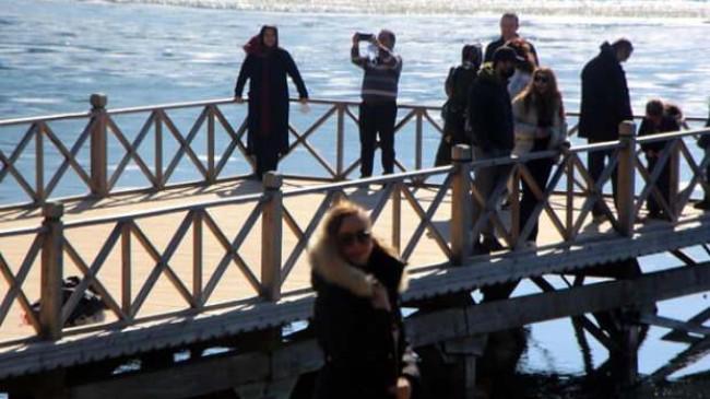 Abant'a yalnızca yabancı turistler girebildi