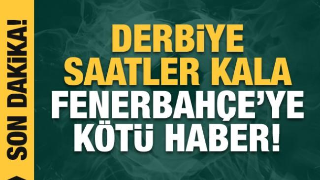 Fenerbahçe'de Gustavo kadroda yok!