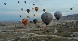 Kapadokya'yı Ocak ayında 42 bin 560 turist ziyaret etti