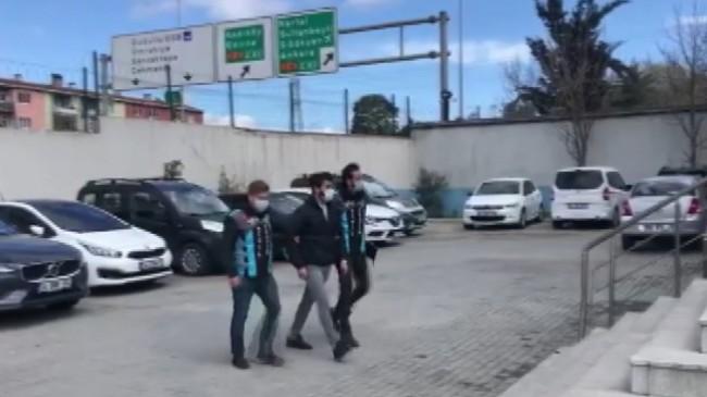 Ataşehir'de lüks aracıyla drift attı, 8 bin 353 lira ceza yedi