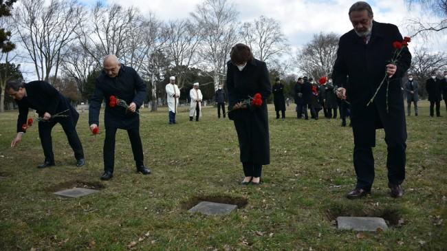Avusturya'da Çanakkale Zaferi'nin yıl dönümünde Galiçya şehitleri anıldı