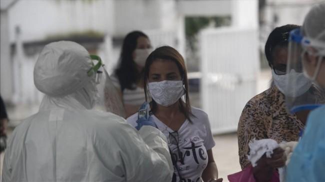 Brezilya'da koronavirüsten rekor can kaybı