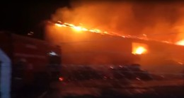 Bursa'da mobilya imalathanesinde yangın: Zarar 1 milyon liradan fazla