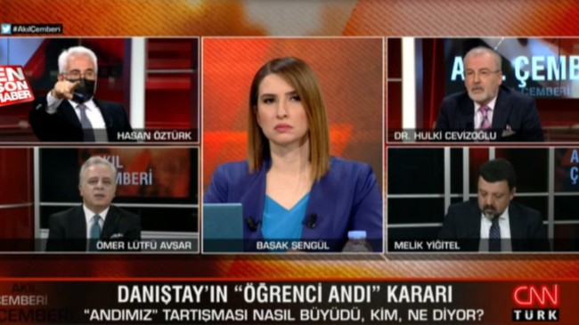 CNN Türk yayınında 'kurucu babalar' tartışması