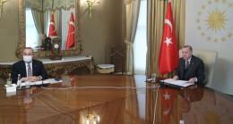 Cumhurbaşkanı Erdoğan, AB yönetimi ile görüştü
