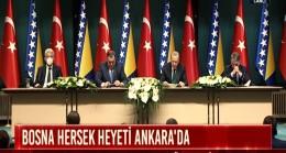 Cumhurbaşkanı Erdoğan Bosna Hersek heyetiyle buluştu
