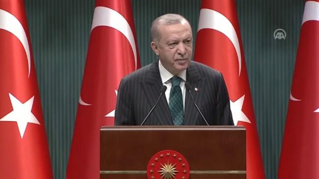 Cumhurbaşkanı Erdoğan: İlk yerli otomobil, 2022'de banttan inecek