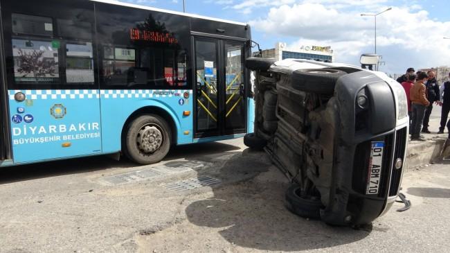 Diyarbakır'da cep yola girmek istedi: 5 kişi yaralandı
