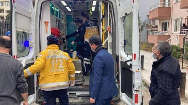 Düzce'de öğrenci okul camından aşağı düştü