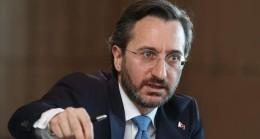 Fahrettin Altun'dan Özgür Özel'e tepki