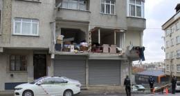 Gaziosmanpaşa'da patlama olan bina incelendi