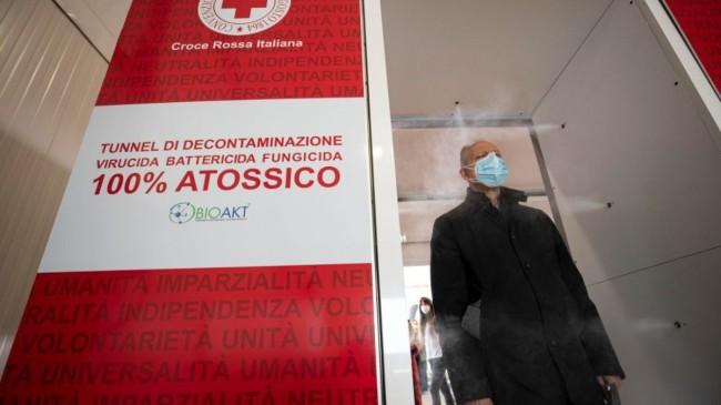 İtalya'da son 24 saatte 24 bin 935 yeni vaka