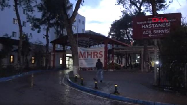 İzmir'de yaralı şahsı hastane önüne bırakıp kaçtılar