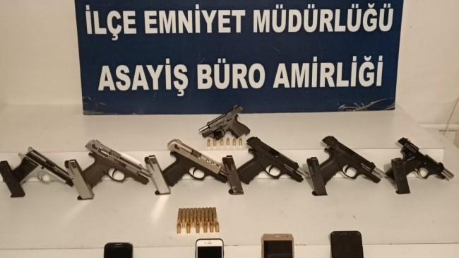 Kağıthane'de yasa dışı silah ticaretiyle ilgili 1 kişi yakalandı
