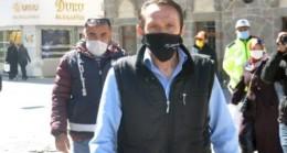 Karaman'da HES koduyla caddeye girmek istedi, temaslı çıktı