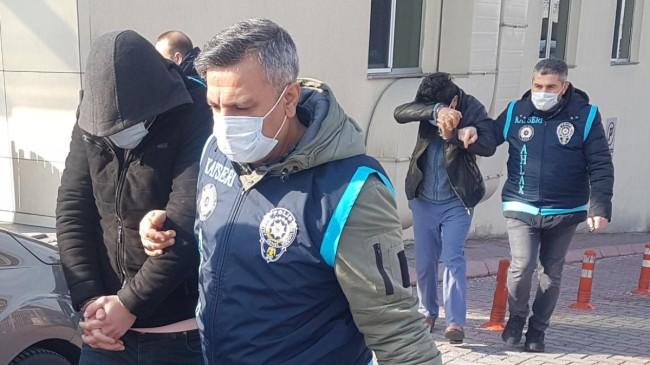 Kayseri'deki fuhuş operasyonunda 4 kişi gözaltına alındı