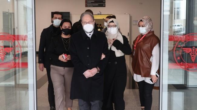 Koronavirüs tedavisi gören Ali Erbaş taburcu oldu