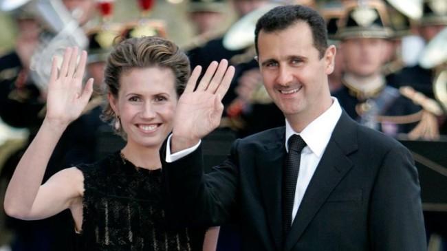 Koronaya yakalanan Beşşar Esad ile eşinin sağlık durumu düzeliyor