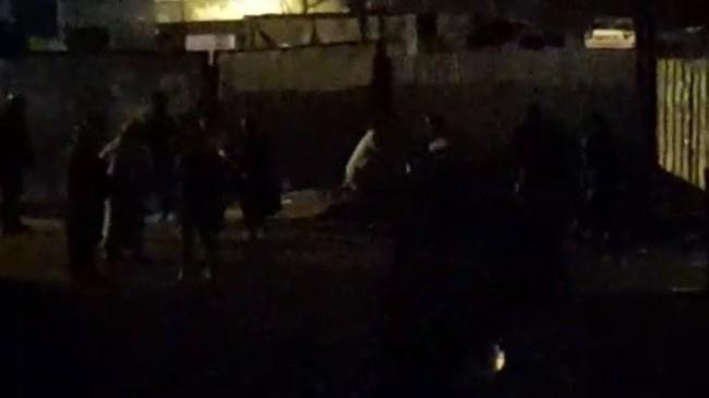 Maltepe'de iki grup arasında kavga