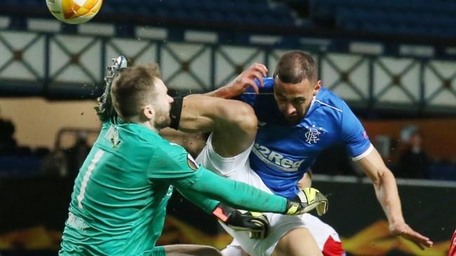 Rangers, Slavia Prag karşılaşmasındaki faul maça damga vurdu