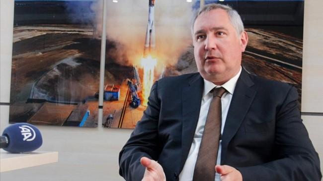 Rusya Federal Uzay Ajansı başkanı Dmitriy Rogozin: Türkiye ile çalışmaktan mutluluk duyarız