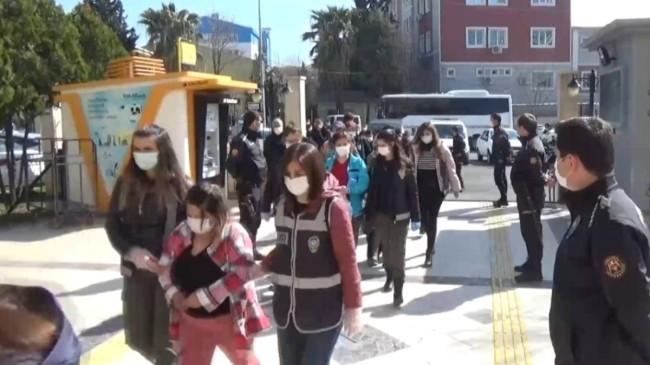 Şanlıurfa'da eş zamanlı fuhuş operasyonu: 11 tutuklama