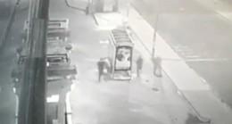 Silivri'de bekçi ile hırsızlar arasında kovalamaca