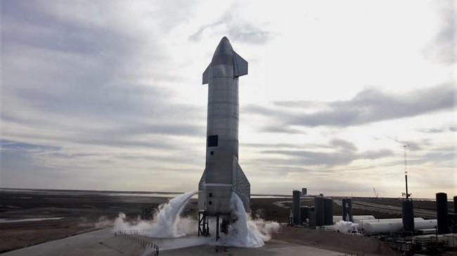 Starship SN11 test uçuşuna hazır