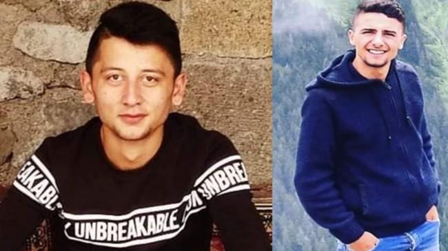 Trabzon'da maganda kurşunu 2 gence isabet etti