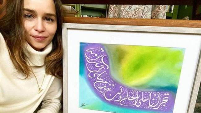 Ünlü oyuncu Emilia Clarke'tan iç savaşın 10. yılında Suriye halkına destek mesajı