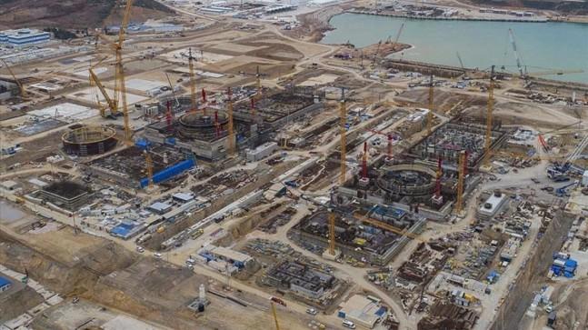 Akkuyu Nükleer Güç Santrali'nde son ünitenin temeli 2022'de atılacak