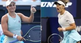 Miami Açık'ta kadınlar finalinin adı belli oldu