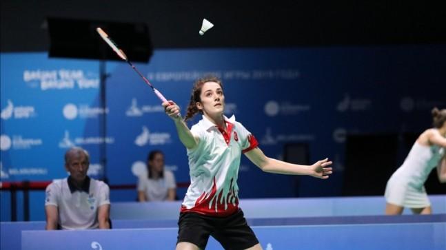 Neslihan Yiğit Avrupa Badminton Şampiyonası'nda yarı finalde