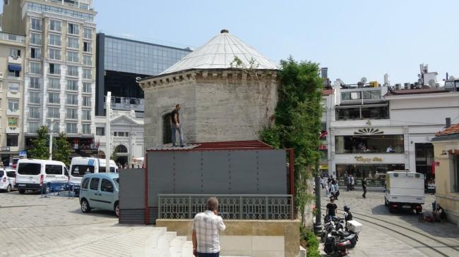 İBB, Taksim Maksemi'nin duvarına jeneratör inşa etti