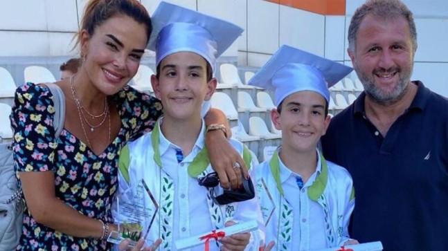 Özlem Yıldız'ın oğlu Demir mezun oldu